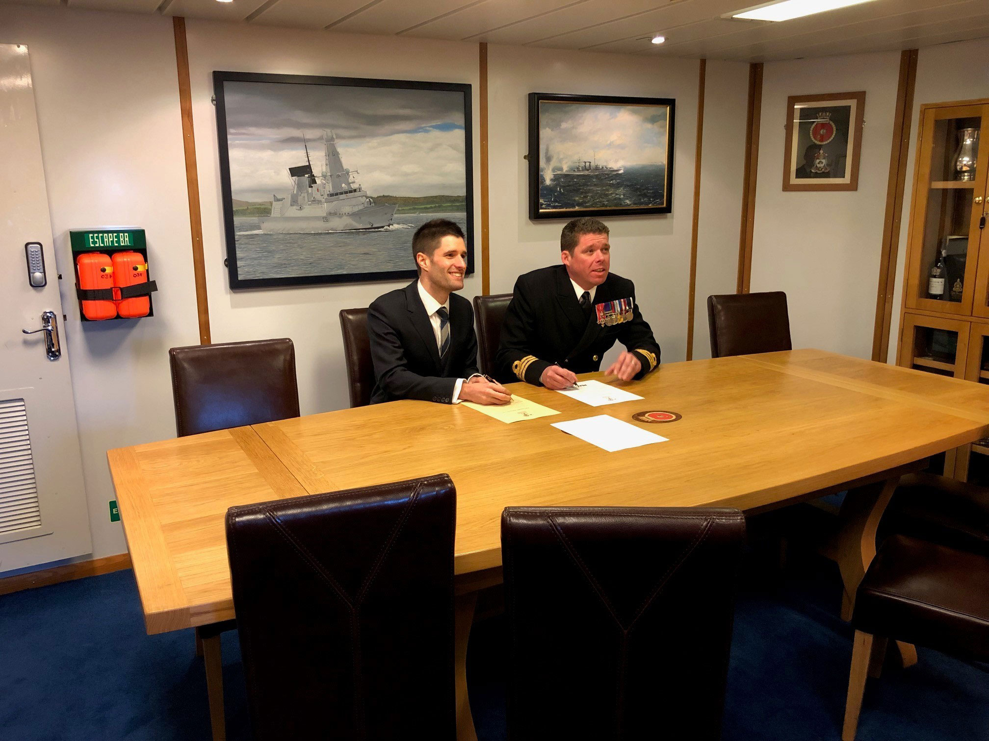Peak Scientific signs the Armed Forces Covenant