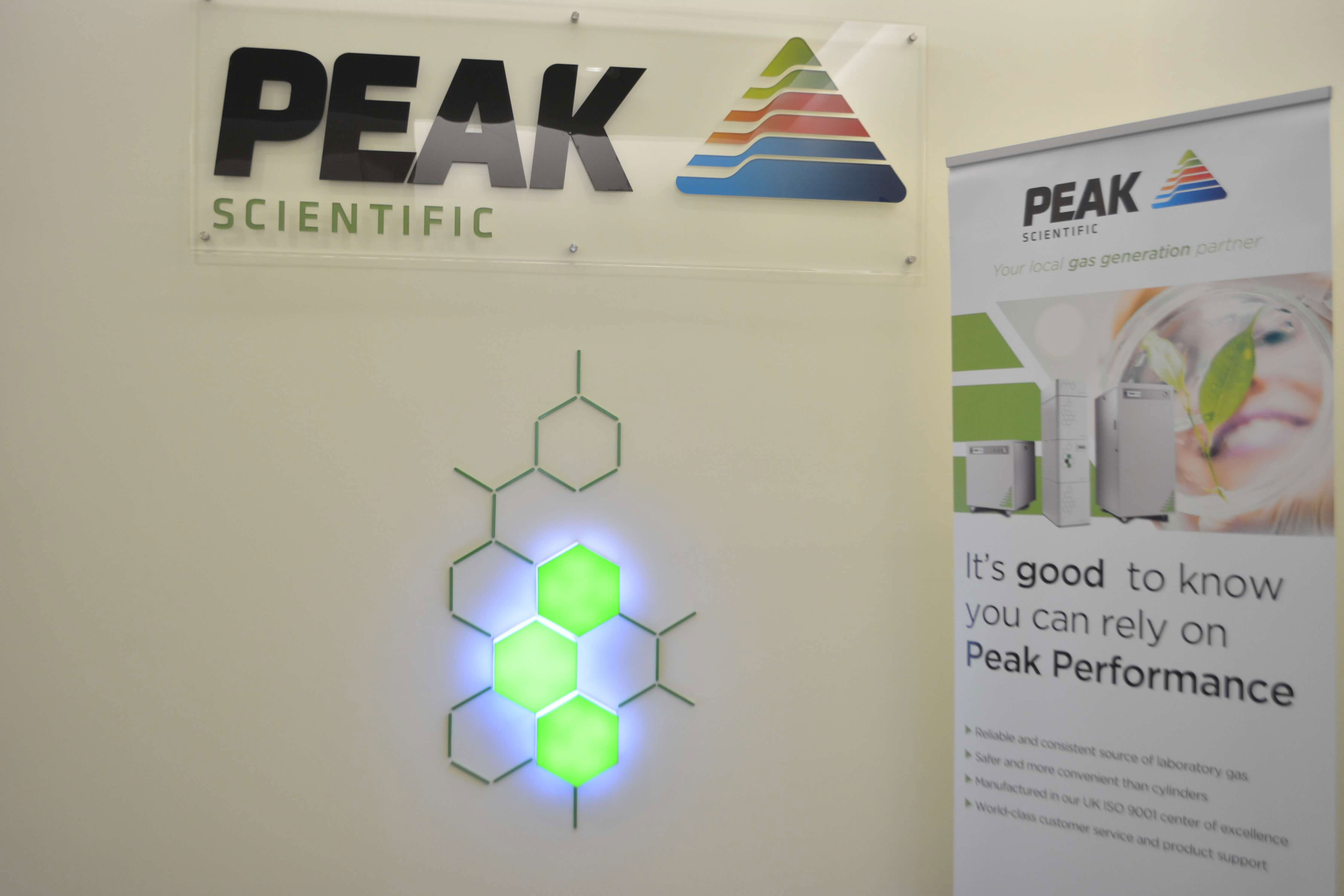 Singapore Peak Scientific nitrogen, hydrogen and zero air